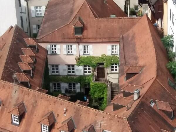 Weinstube Baldreit Restaurant Ansicht Innenhofregionale Küche Baden-Baden