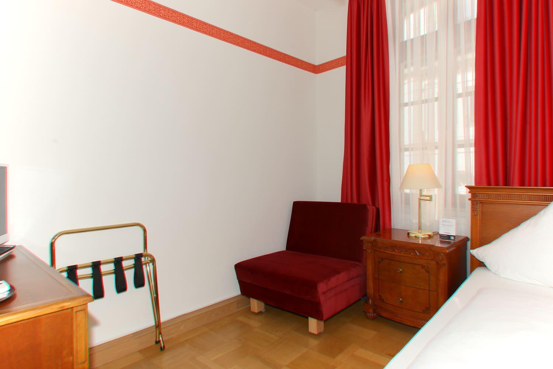 Das Comfort Dreibettzimmer und Einzelbett