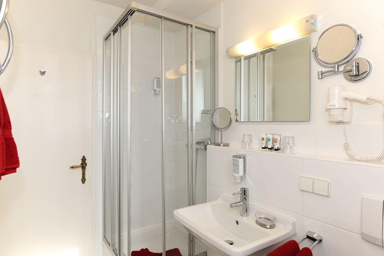 Junior Suite Badezimmeransicht