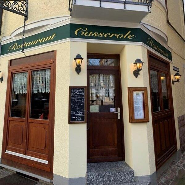 La Casserole restaurant mit französicher Küche Baden-Baden
