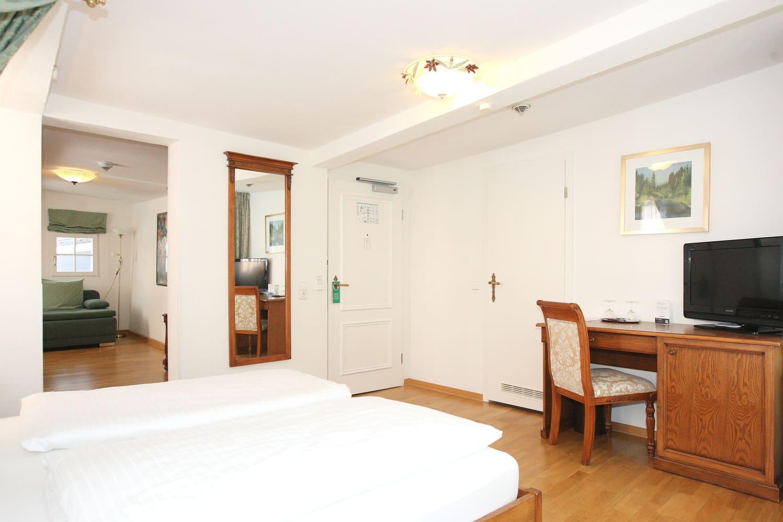 Grüne Suite 2 Obergeschoss Eingang