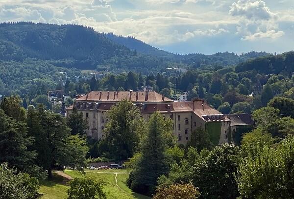 Panoramawanderweg Aussicht auf das Neue Schloss