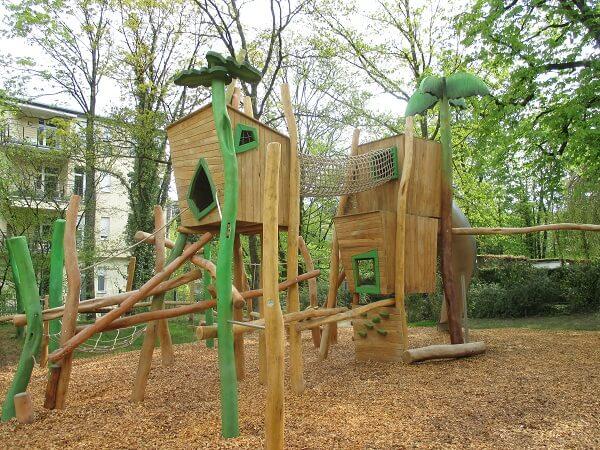 Dschungel Spielplatz Klosterwiese (c) Stadt Baden-Baden