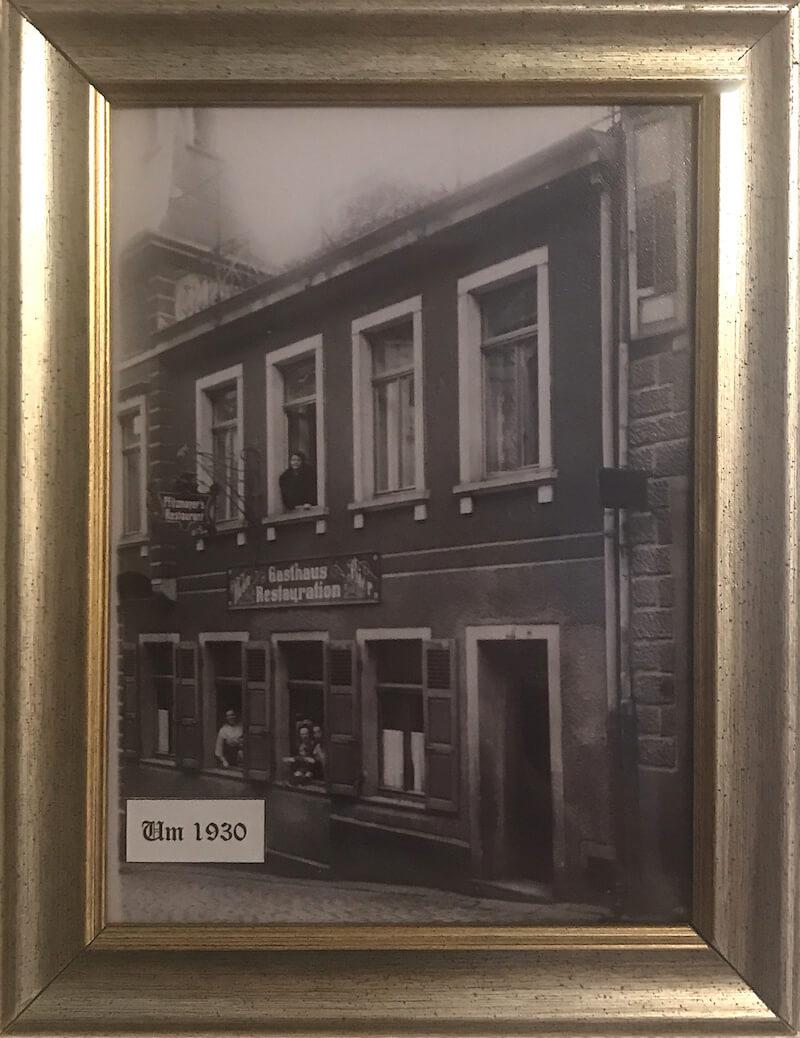 Hotel Rathausglöckel im Jahr 1930