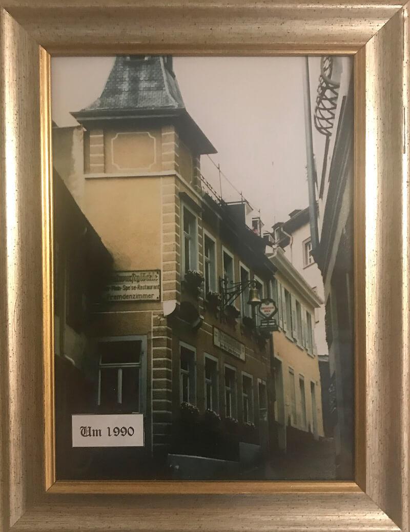 Hotel Rathausglöckel im Jahr 1990