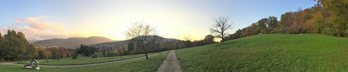 Panoramawanderweg im Herbst